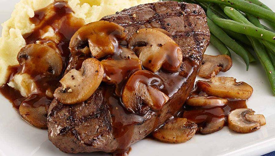 دستور پخت کتلت گوشت و قارچ همراه با سیر خشک