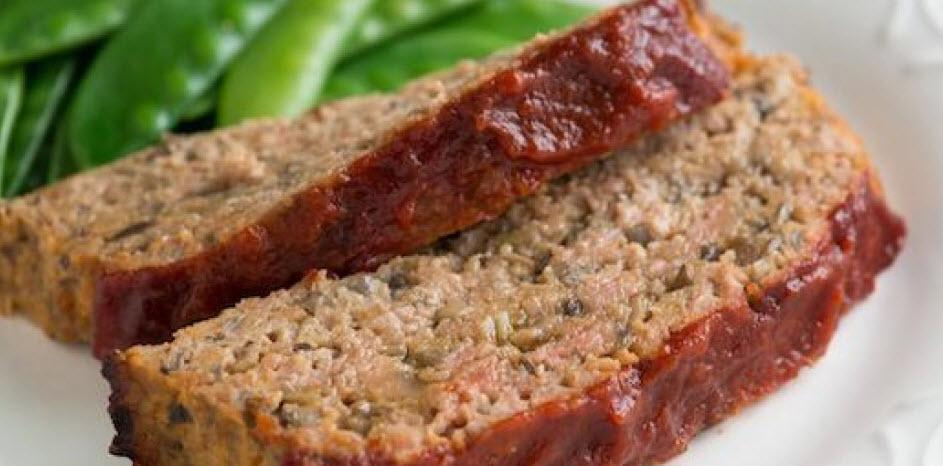 نحوه پخت لوف گوشت ساده همراه با استفاده از پودر خردل