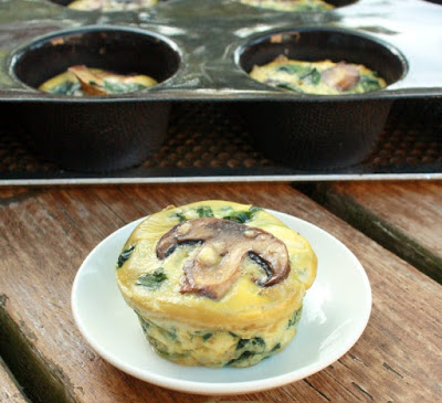 طرز تهیه مافین صبحانه یا مینی کیش سبزیجات با پنیر موزورلا