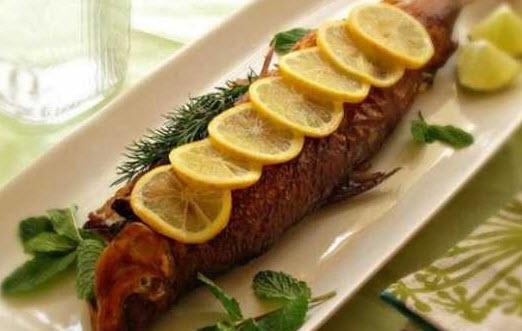 طرز تهیه خوراک ماهی با روش بخار پز کردن ماهی