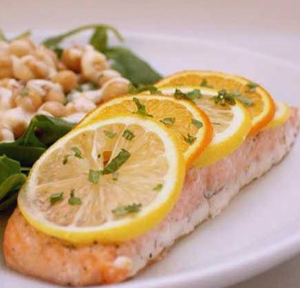 پخت ماهی کنجدی با سس مرکبات یک ماهی با طعم کاملا متفاوت