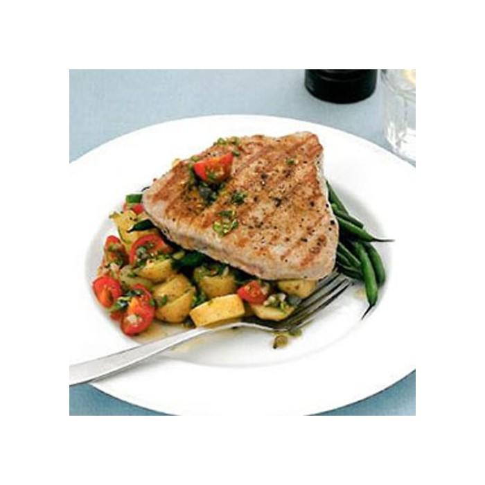 پخت ماهی تن خشک همراه با سس وی یرژ و ترخون