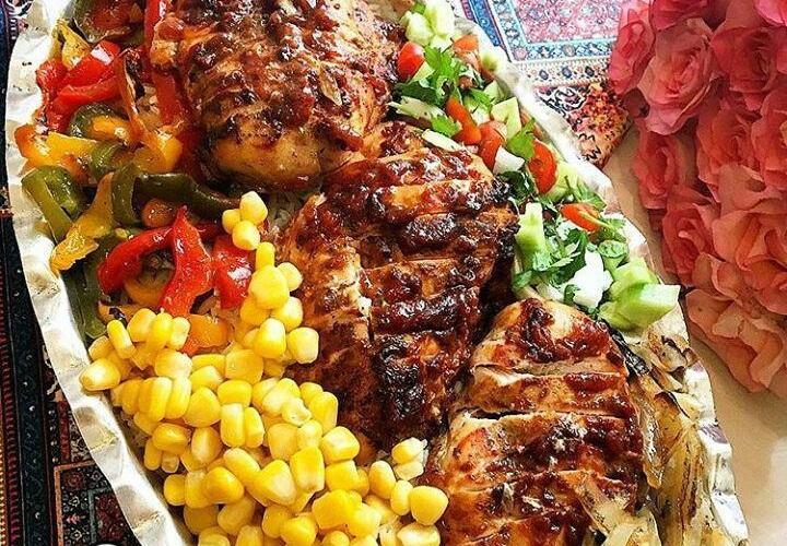 پخت مرغ رژیمی فلفلی ویژه افراد چاق و دارای افزایش وزن