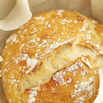 چگونه بدون ورز دادن نان آلمانی درست کنیم؟