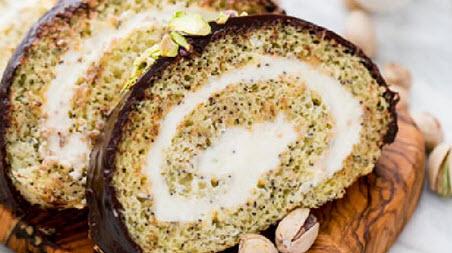 طرز تهیه نان خشخاش رولتی با استفاده از دانه خشخاش