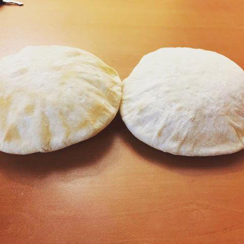 طرز پخت نان پیتای پاکتی لبنانی