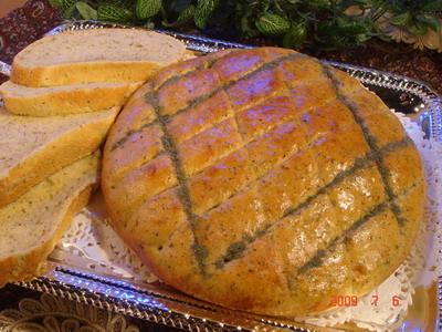 طرز تهیه نان سیب زمینی و معطر کردن آن با زیره