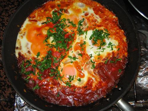 پخت املت بادمجان و گوجه فرنگی با بادمجان کبابی یا سرخ شده