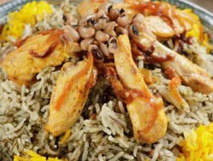 پخت پلو شوشتری با مرغ یک غذای کاملا سنتی