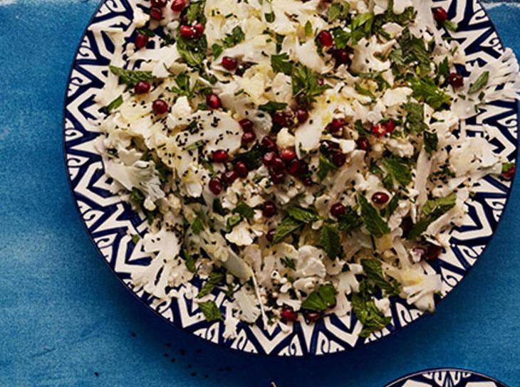 دستور پخت سالاد عدس مغذی همراه با سبزیجات دیگر