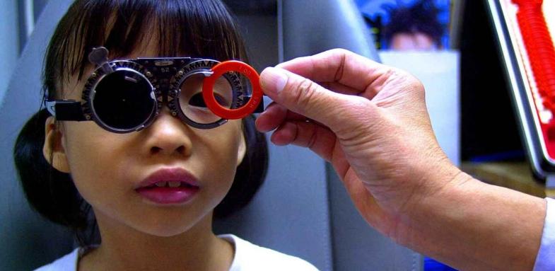 پیشگیری از بروز نزدیک بینی در اطفال