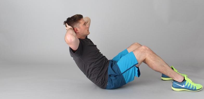 تمرین ساده برای کوچک کردن شکم