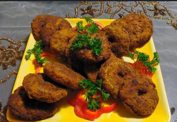 درست کردن شامی لپه با استفاده از گوشت قرمز