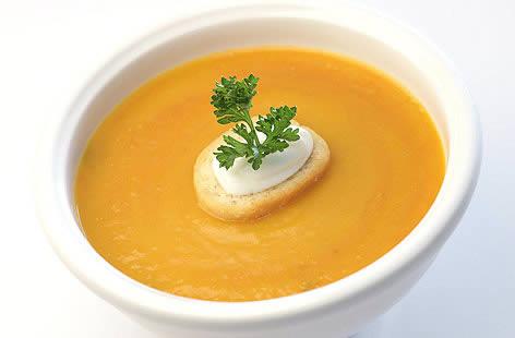 پخت سوپ کدو حلوایی اسپایسی با استفاده از ادویه کاجون