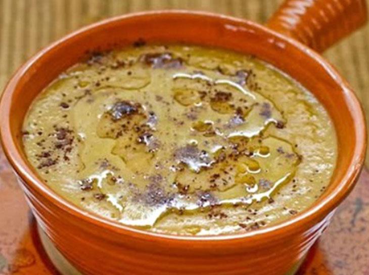 طرز تهیه سوپ نخود مدیترانه ای با استفاده از پودر زیره