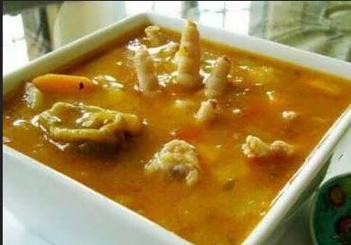 پخت سوپ پای مرغ و سبزیجات معجزه آسا
