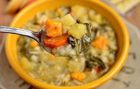دستور پخت سوپ رژیمی ویژه یک پیش غذای چربی سوز