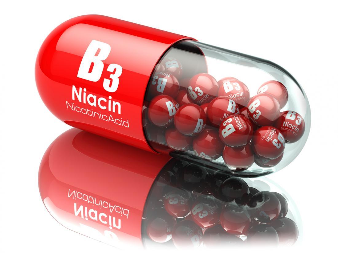مقابله با امراض مختلف با ویتامین ب3