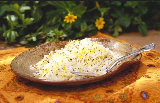 دستور پخت زیره پلو یک غذای سنتی کرمانی