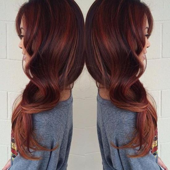 نمونه هایی از تصاویر مدل رنگ مو جدید برای مناسبت ها خاص
