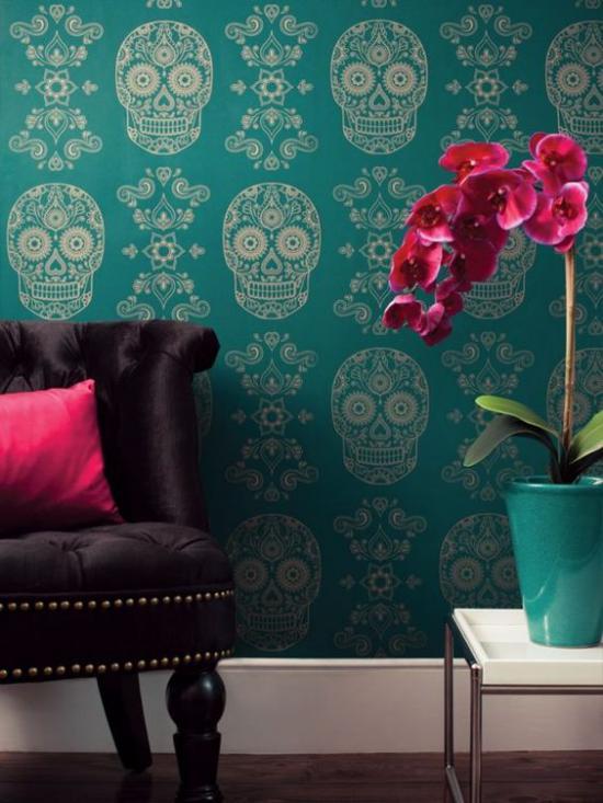 تصاویری مختلف و جدید از مدل کاغذ دیواری با رنگ بندی شیک