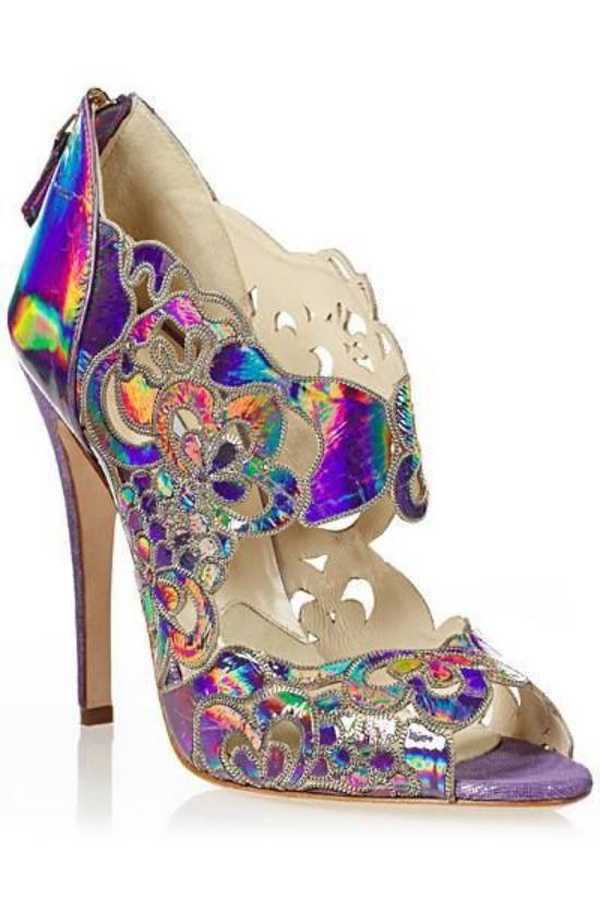 کفش مجلسی زنانه با رنگ های شاد و مجلسی