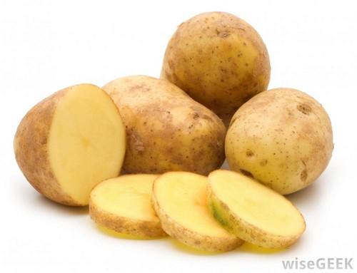 بازسازی بدن با استفاده از سیب زمینی