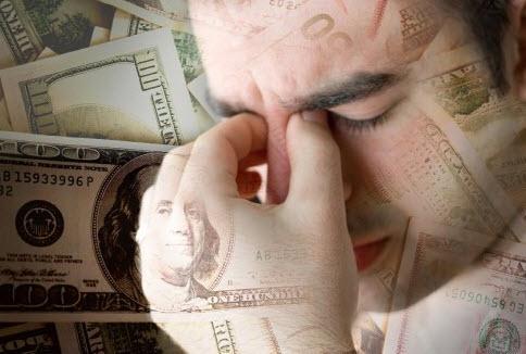 افزایش استرس مالی با بدهکار شدن