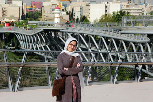 راز موفقت لیلا عراقیان طراح پل طبیعت تهران از زبان خودش