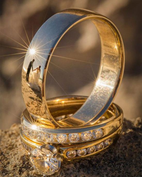تصاویری از مدل حلقه نامزدی ساده و شیک