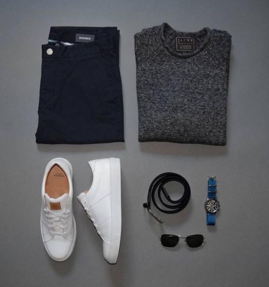 ست لباس مردانه برای فصل زمستان - پیراهن پاییزی مردانه