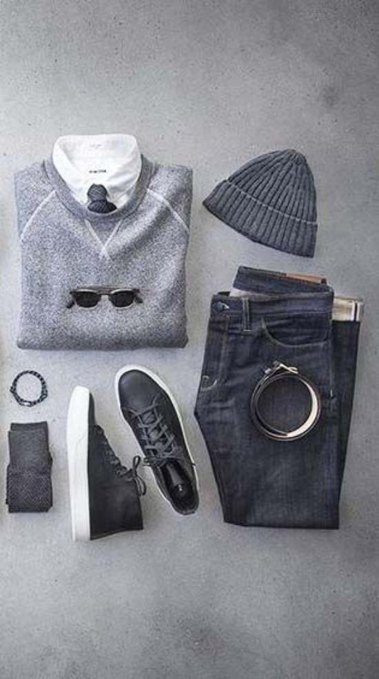 ست لباس مردانه برای فصل زمستان – پیراهن پاییزی مردانه