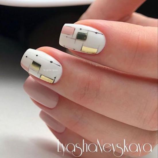 مدل طراحی ناخن جدید + تصویر