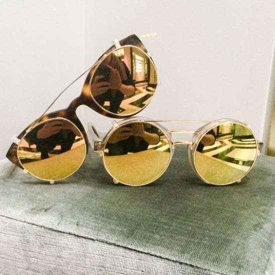 جدیدترین مدل عینک افتابی زنانه شیک
