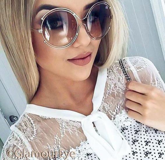 شیک ترین مدل عینک افتابی دخترانه