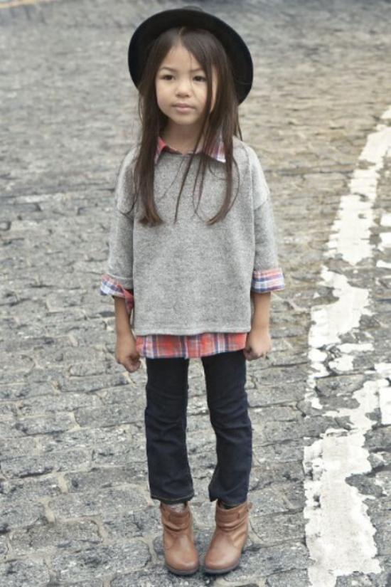 عکس از مدل لباس پاییزه دخترانه بچه گانه جدید