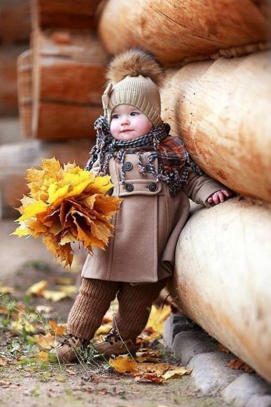 گالری شیک از مدل لباس بچه گانه دخترانه پاییزی