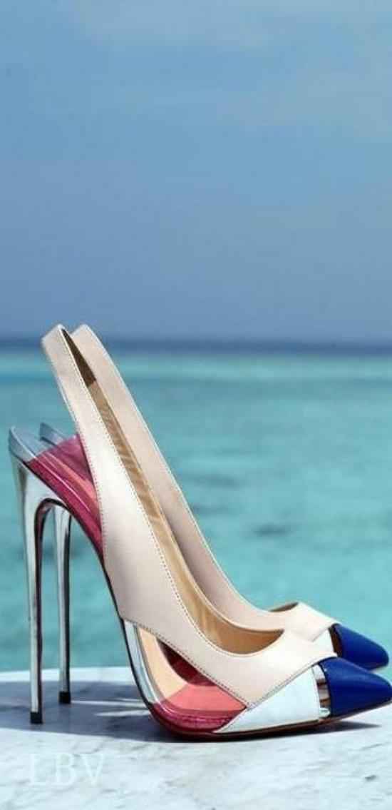 دانلود عکس کفش مجلسی + عکس کفش پاشنه بلند جدید دخترانه