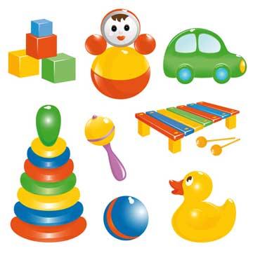 انتخاب اسباب بازی برای کودک زیر یک سال چگونه باید باشد؟