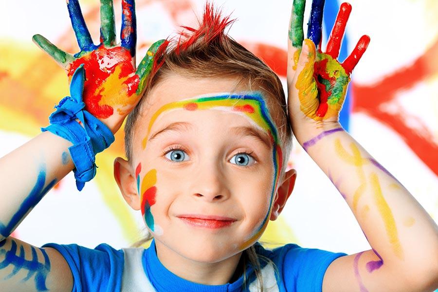 افزایش خلاقیت کودک با مدل خلاقیت شدن