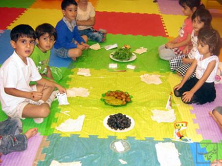 اصول روزه داری کودکان با خوردن سحری کامل