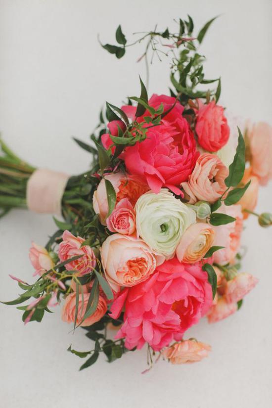 مدل دسته گل عروس شیک با انواع ترکیب رنگ های فوق العاده زیبا و دیدنی