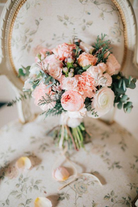 مدل دسته گل عروس ترکیبی 2018 جذاب و ساده ولی جدید