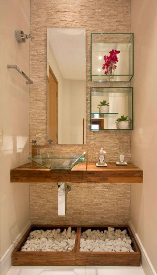 تصاویری جدید از دکوراسیون حمام و طراحی داخلی آن که برای سال 2018 مد شده