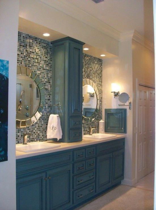 انواع طراحی داخلی سرویس بهداشتی و حمام برای خانه های امروزی