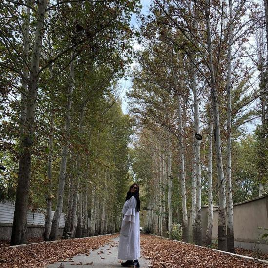 مدل مانتو حلزونی و پاییزه سحر دولتشاهی + عکس
