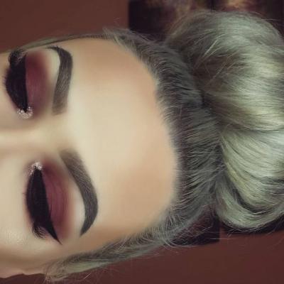 عکس مدل آرایش چشم با طرح های زنانه و دخترانه جذاب مد سال