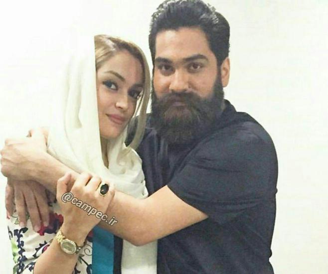 علی زند وکیلی و خواهرش + عکس