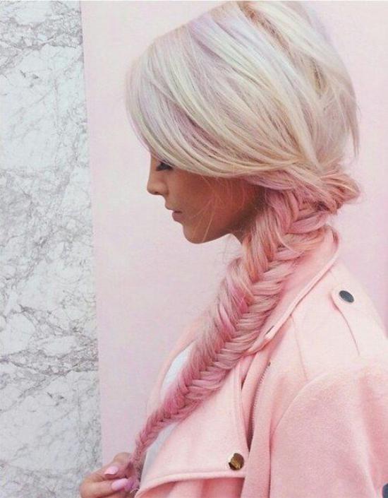 مدل رنگ مو فانتزی زنانه و دخترانه جدید و شیک با طرح های مد سال