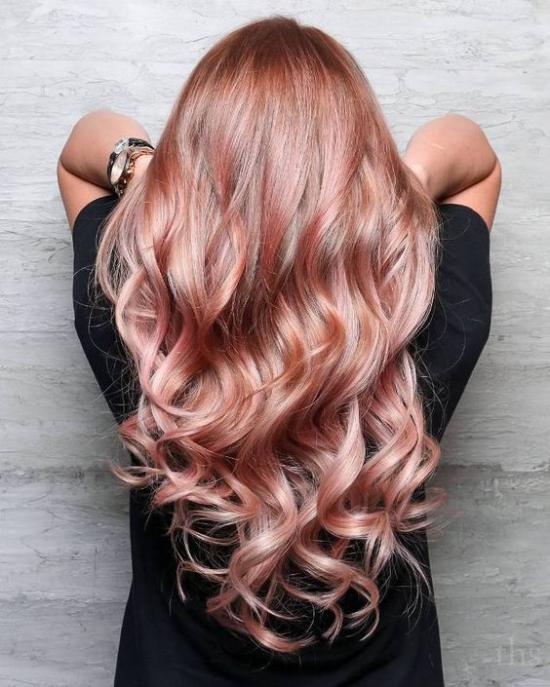 مدل رنگ مو فانتزی جدید شیک و جذاب